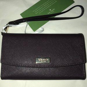 Kate Spade cellphone/wallet wristlet